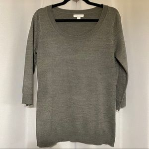 New York & Company Scoop Neck Lightweight Sweater